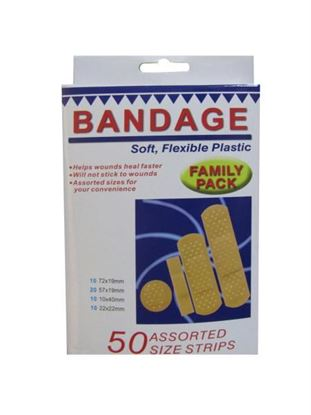 Picture of Family pack bandage strips (Available in a pack of 24)