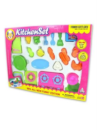 Picture of Kitchenware play set, assorted (Available in a pack of 6)