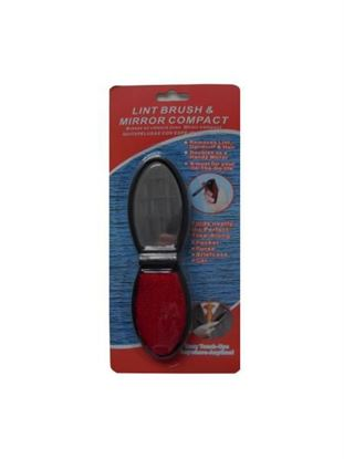 Picture of Lint brush and mirror compact (Available in a pack of 12)