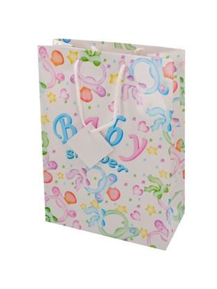 Picture of Baby lg gift bag mixed (Available in a pack of 24)