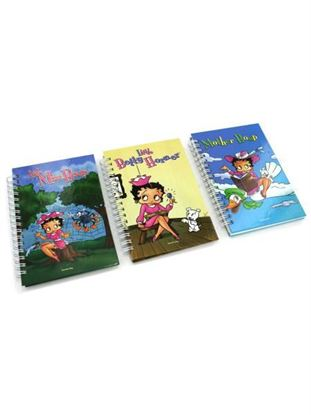 Picture of Betty Boop note pad, assorted designs (Available in a pack of 24)