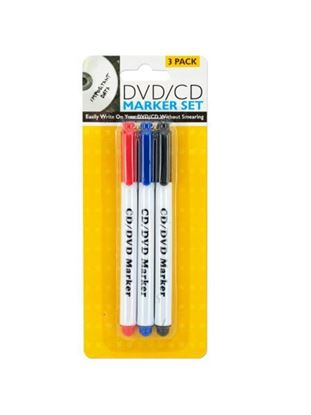 Picture of DVD / CD marker set (Available in a pack of 24)