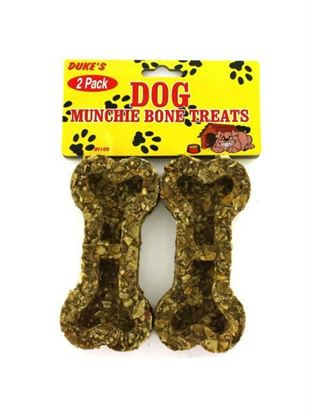Picture of 2 Pack bone-shaped dog munchies (Available in a pack of 24)