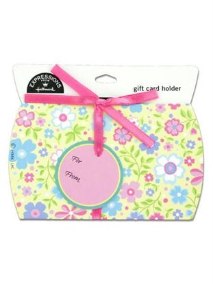 Picture of Floral gift card holder with 'to' and 'from' tag (Available in a pack of 24)