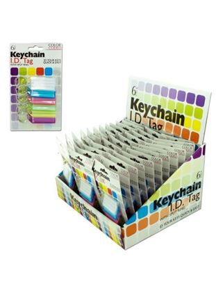 Picture of Color coded key chain tags (Available in a pack of 36)