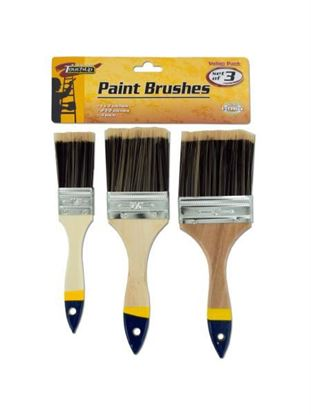 Picture of Paint brushes, pack of 3 (Available in a pack of 10)