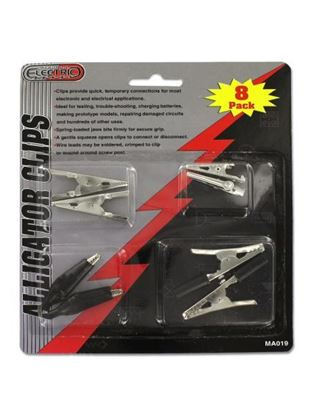 Picture of Alligator clips (Available in a pack of 24)