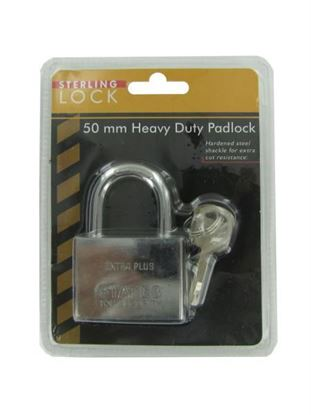 Picture of 50mm Heavy duty padlock (Available in a pack of 8)