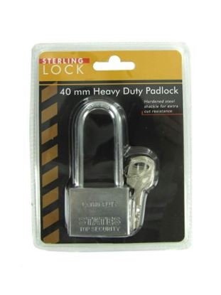 Picture of 40 mm Heavy Duty Padlock (Available in a pack of 8)