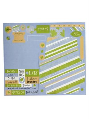 Picture of 10 Sheet Good Luck Card Kit (Available in a pack of 24)