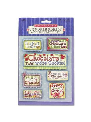 Picture of Cookbook papercrafting accents (Available in a pack of 30)
