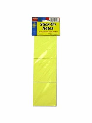 Picture of 3 Pack stick-on note pads (Available in a pack of 36)