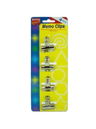 Picture of Medium metal memo clips (Available in a pack of 24)