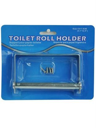 Picture of Metal toilet paper roll holder (Available in a pack of 8)