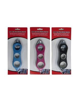 Picture of 4-in-1 bottle and can opener (Available in a pack of 8)