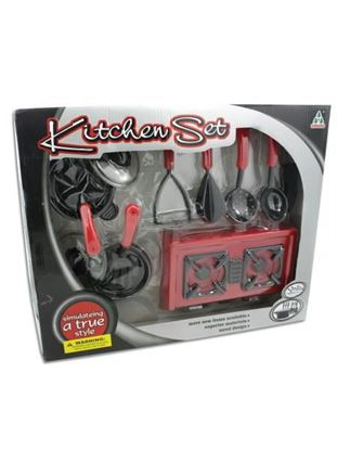 Picture of Kitchen play set with stove (Available in a pack of 1)
