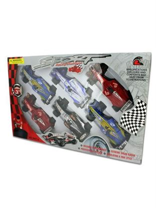 Picture of 6 Pack super race cars (Available in a pack of 1)