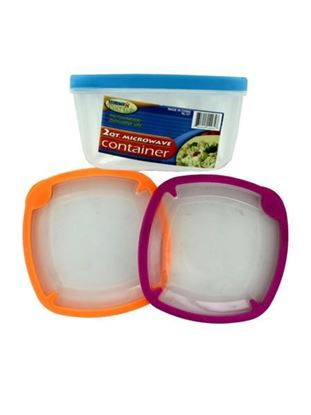 Picture of 2 Quart microwave storage container (Available in a pack of 12)