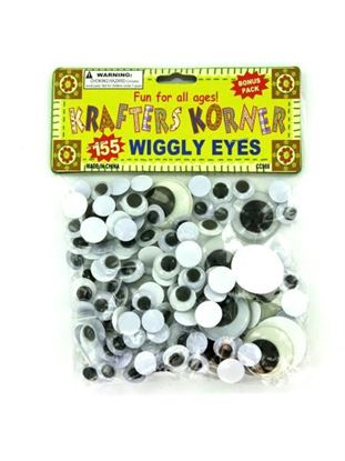 Picture of Craft wiggly eyes (Available in a pack of 24)