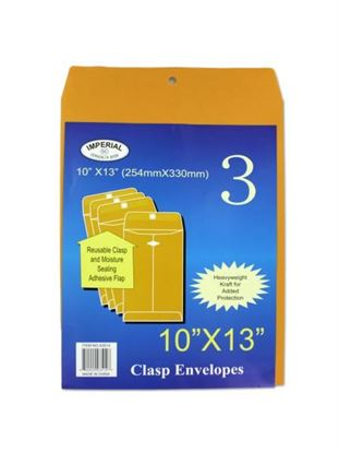 Picture of 10' x 13' Clasp envelopes (Available in a pack of 12)