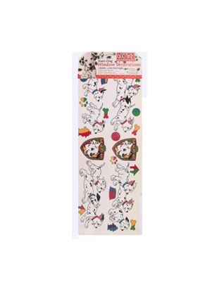 Picture of Dalmatian window clings (Available in a pack of 24)