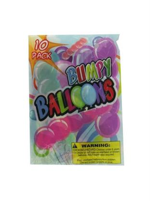 Picture of Giant bumpy balloons (10 pack) (Available in a pack of 24)
