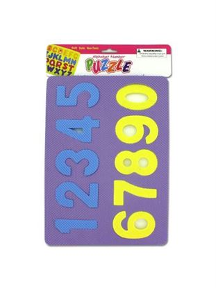 Picture of Number and alphabet foam puzzles (Available in a pack of 24)