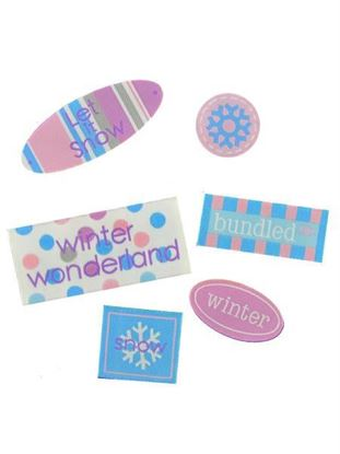 Picture of Bundled Up Label Set (Available in a pack of 25)