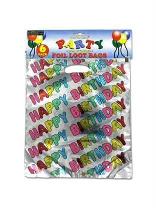 Picture of Happy birthday loot bags (Available in a pack of 24)