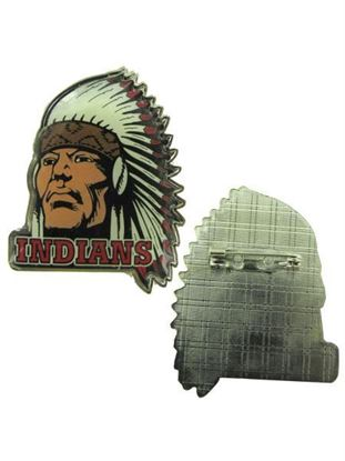 Picture of Indian Mascot Pins (Available in a pack of 24)