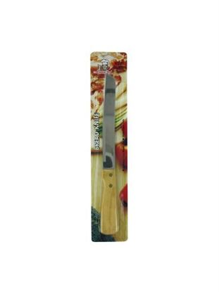 Picture of Bread knife with wood handle (Available in a pack of 36)