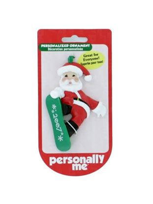 Picture of 2007 Santa ornament (Available in a pack of 24)