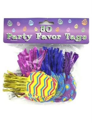 Picture of Easter egg party favor ties, pack of 50 (Available in a pack of 24)