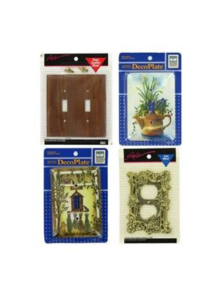 Picture of Assorted switchplates, 200 pieces (Available in a pack of 20)