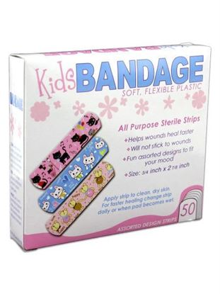 Picture of Bandages with kid's design (Available in a pack of 24)