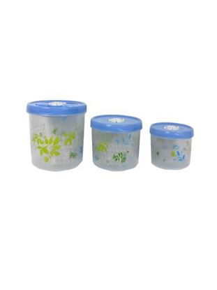 Picture of Decorative food containers, set of 3 (Available in a pack of 4)