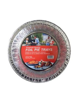 Picture of Foil pie trays, pack of 4 (Available in a pack of 24)