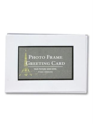 Picture of Blank photo frame greeting cards (Available in a pack of 24)