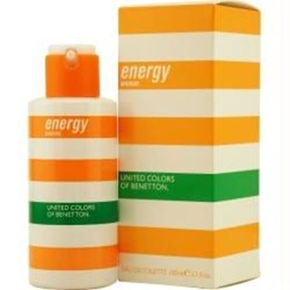 Picture of Benetton Energy By Benetton Edt Spray 3.3 Oz