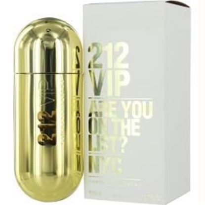 Picture of 212 Vip By Carolina Herrera Eau De Parfum Spray 2.7 Oz