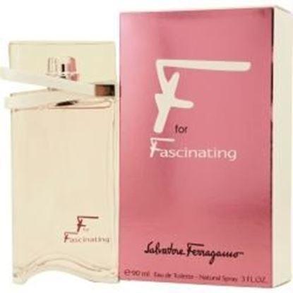 Picture of F For Fascinating By Salvatore Ferragamo Edt Spray 3 Oz