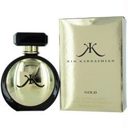 Picture of Kim Kardashian Gold By Kim Kardashian Eau De Parfum Spray 3.4 Oz