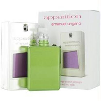 Picture of Apparition By Ungaro Eau De Parfum Refillable Spray .7 Oz & Eau De Parfum Refill Spray .7 Oz (travel Offer)