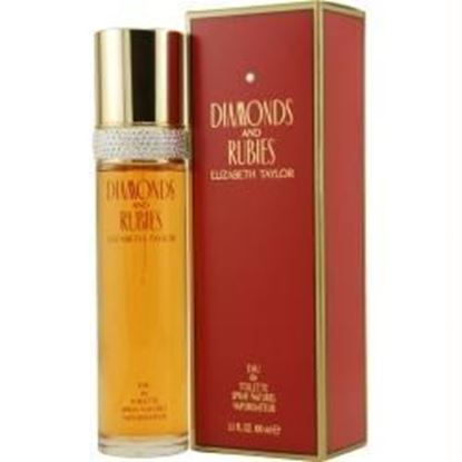 Picture of Diamonds & Rubies By Elizabeth Taylor Edt Spray 3.3 Oz