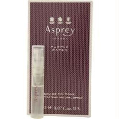 Picture of Asprey Purple Water By Asprey Eau De Cologne Spray Vial On Card Mini