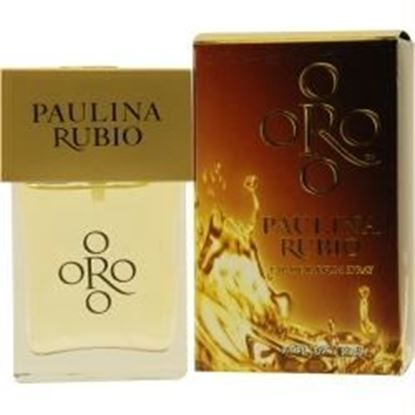 Picture of Oro By Paulina Rubio By Paulina Rubio Eau De Parfum Spray 1 Oz