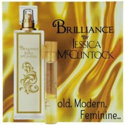 Picture of Jessica Mc Clintock Brilliance By Jessica Mcclintock Eau De Parfum Vial On Card Mini