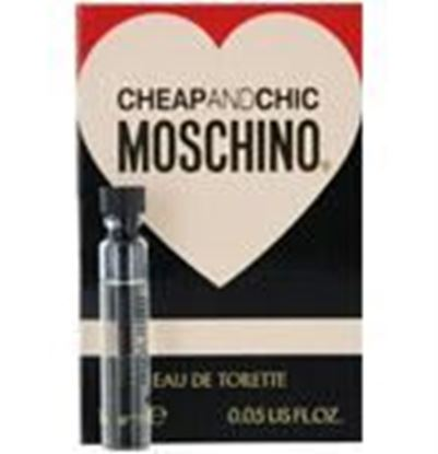 Picture of Cheap & Chic By Moschino Edt Vial On Card Mini