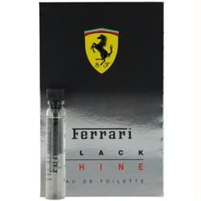Picture of Ferrari Black Shine By Ferrari Edt Vial On Card Mini