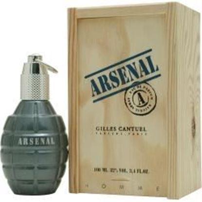 Picture of Arsenal Blue By Gilles Cantuel Eau De Parfum Spray 3.4 Oz